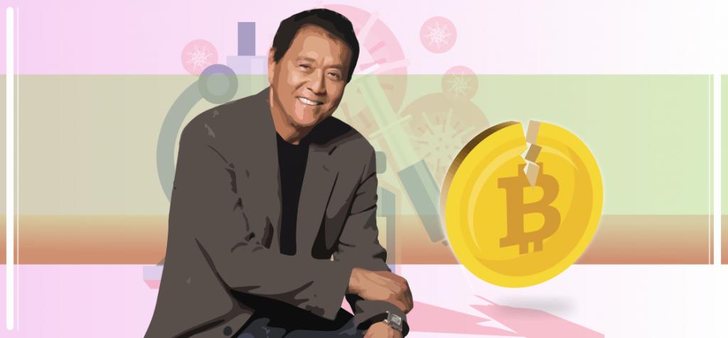 As World Finds COVID-19 Vaccine, Bitcoin Will 'Crash': Robert Kiyosaki