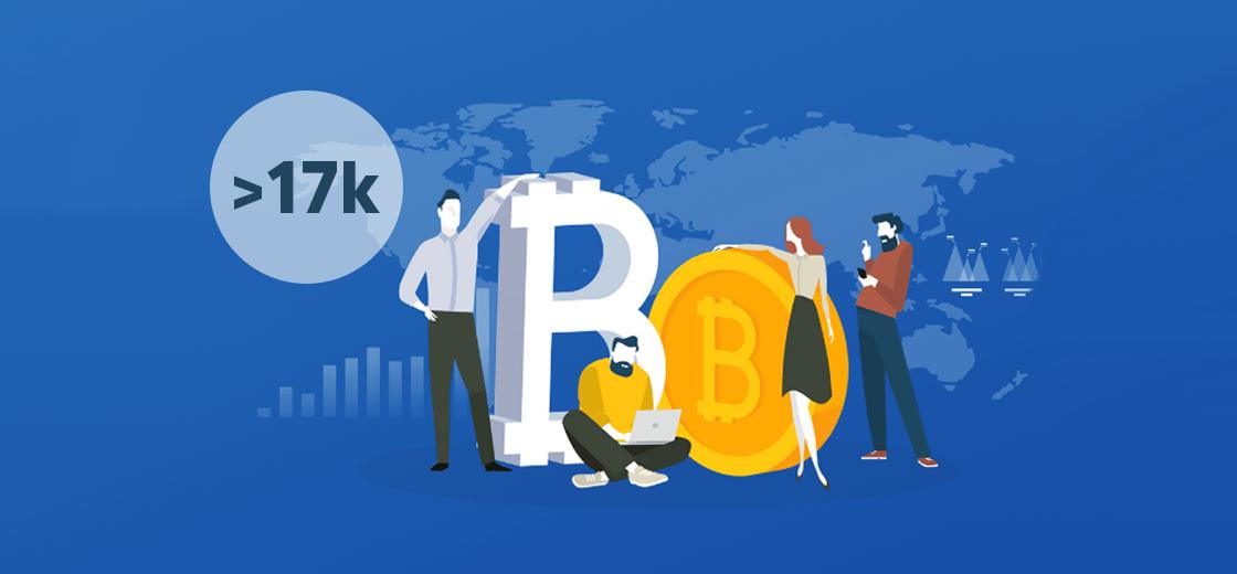Bitcoin Millionaire Count Reaches Near 17,000: Report