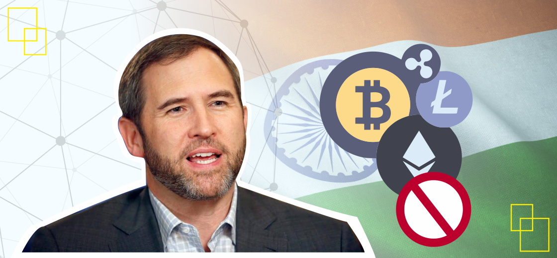 Brad Garlinghouse Criticizes Indian Government's Plan to Ban Crypto Trading