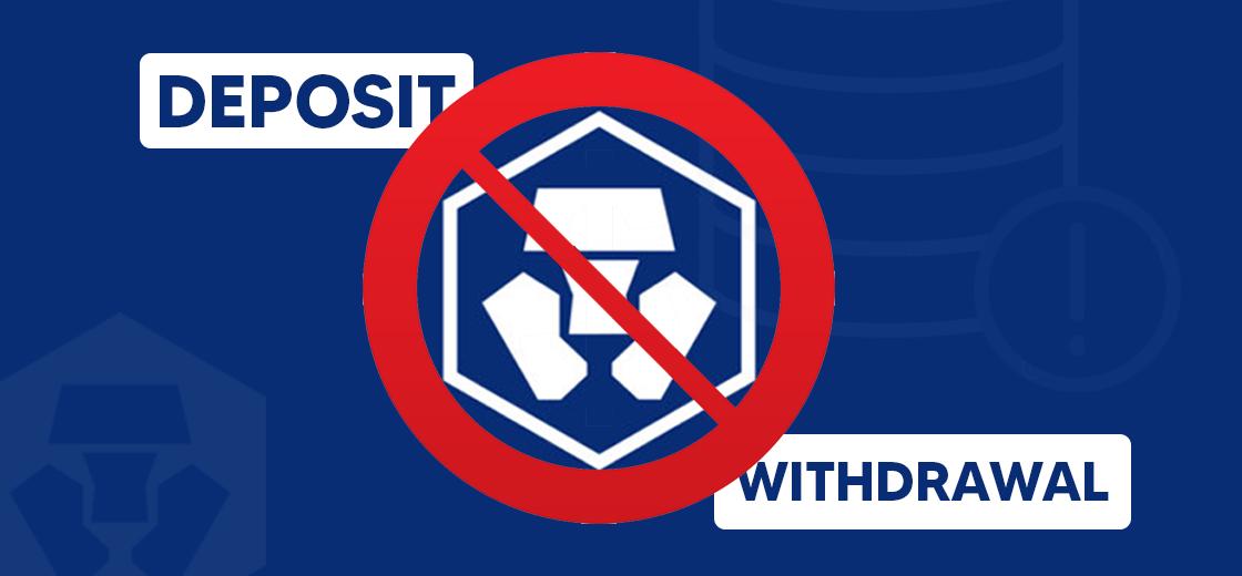 Crypto.com Experiences Database Error, Blocks Deposit And Withdrawals