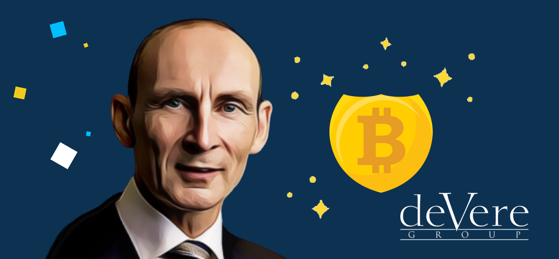 DeVere Group CEO Predicts Bitcoin as Top Safe-Haven Over Gold