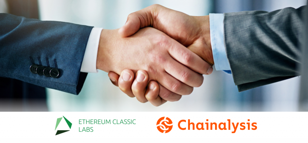 ETC Labs Announces Partnership With Chainalysis to Offer KYT Solution