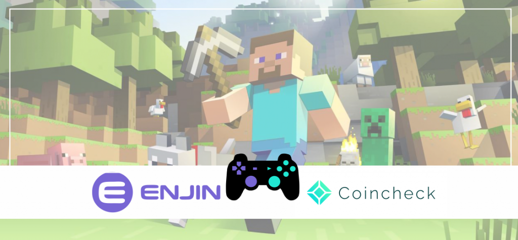 Enjin Partners With Coincheck To Offer In-Game Crypto Items To Minecraft