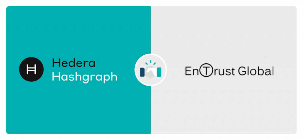 Entrust Supply Chain Platform Partners With Hedera Hashgraph