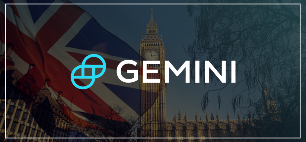 Gemini Launches in UK as Part of Global Expansion Plan