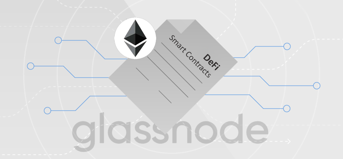 Glassnode Reports Users Putting ETH in Defi Smart Contracts