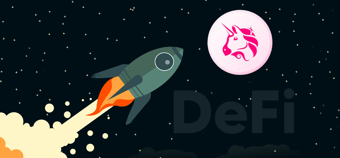 Most DeFi Tokens at Loss as Uniswap's UNI Skyrockets