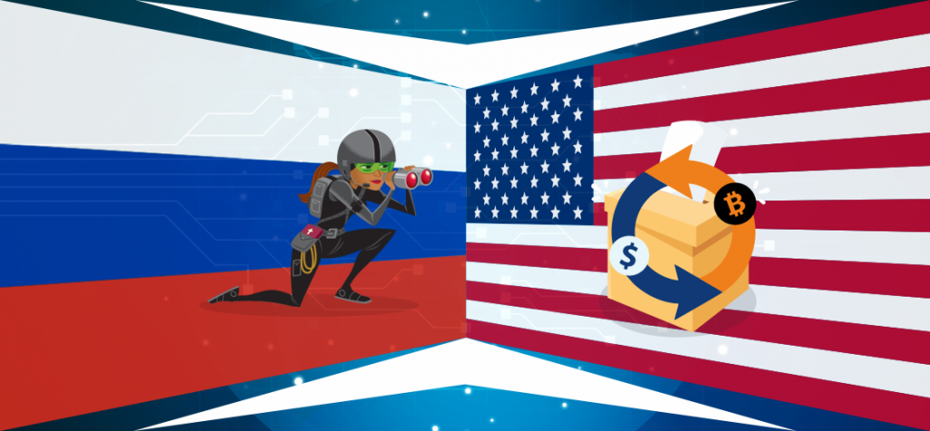 Russian Spies Intervene Into US Election Using Crypto Exchanges Funneled Fund