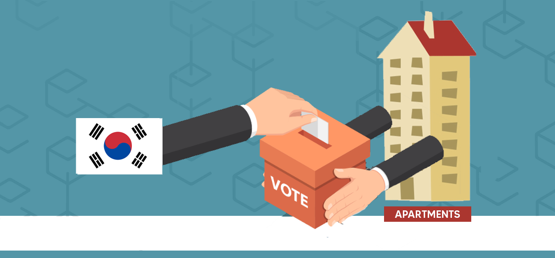 South Korean Government Planning to Take Blockchain Voting to Apartments