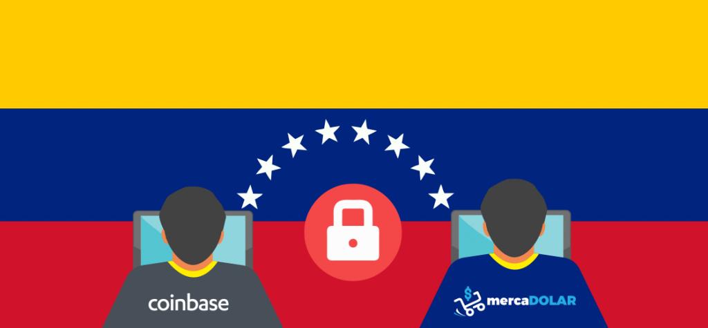 Venezuela Blocks Access to Coinbase and MercaDolar