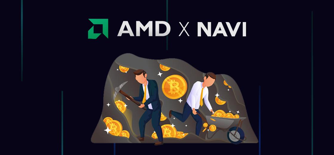 AMD Might Be Preparing Navi 10 GPU For Crypto Mining