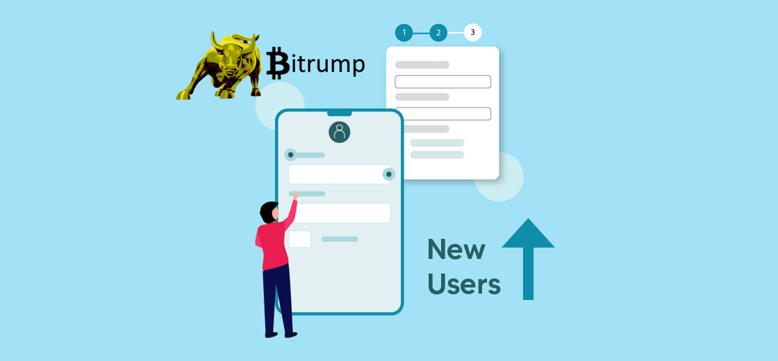 Bitrump Experiences Surge in New User Registration