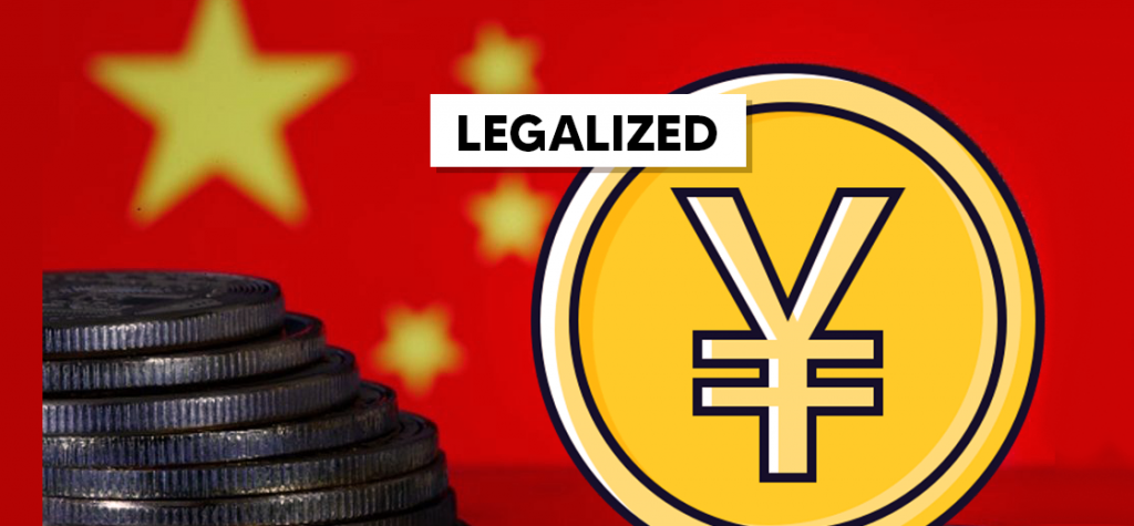 China Drafts Law to Legalize Digital Yuan While Banning Competitors