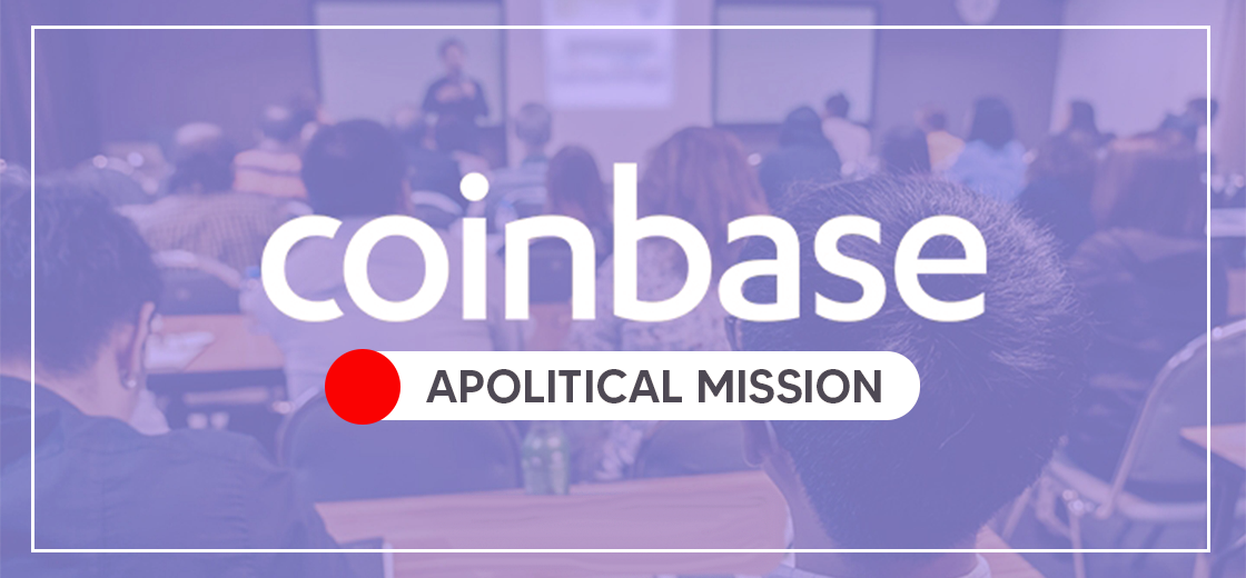 Coinbase Employees Sideline Themselves From Company's Apolitical Mission