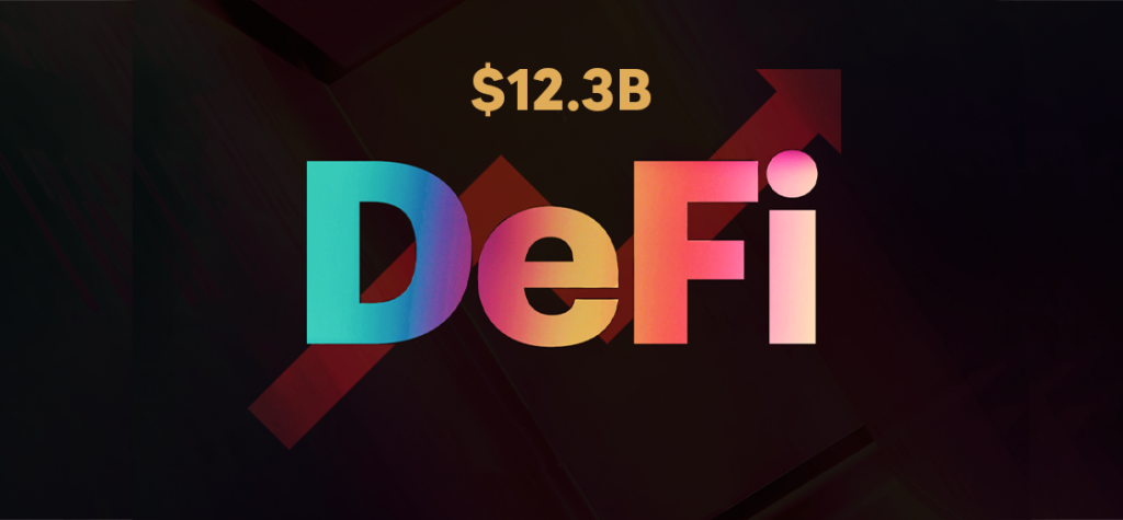 Crypto Collateral Locked in DeFi Reaches All-Time High of $12.3B