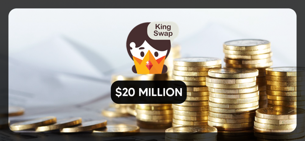 DeFi Project KingSwap Raises $20 Million in Funding and Liquidity Support