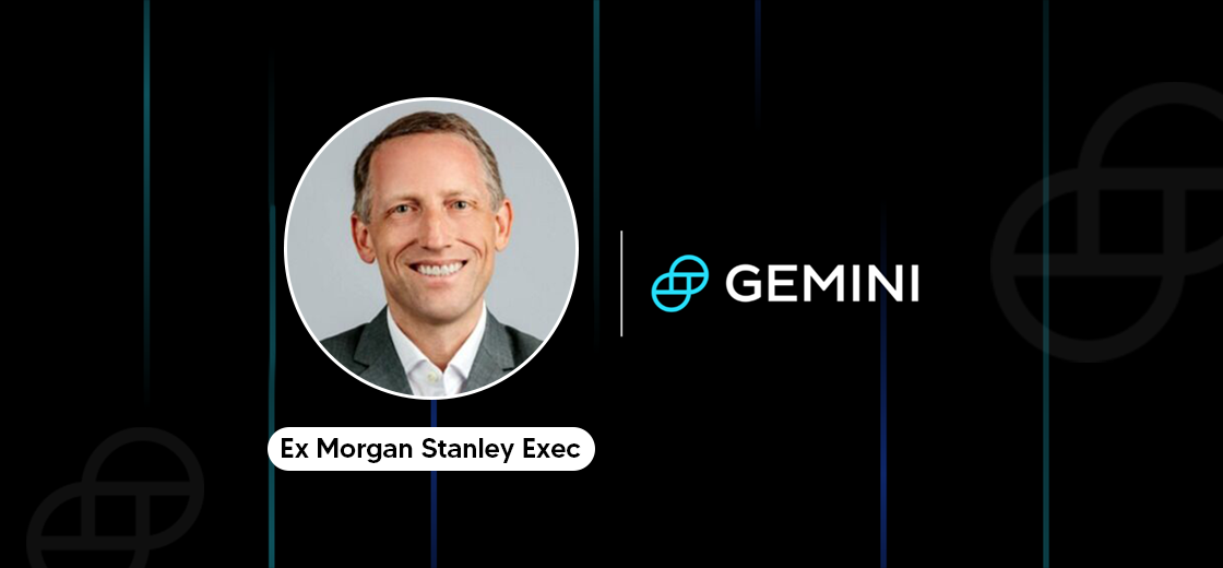 Gemini Crypto Exchange Hires Morgan Stanley's Andy Meehan as CCO