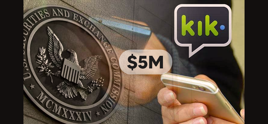 Kik Reaches an Agreement With SEC to Pay $5M Fine