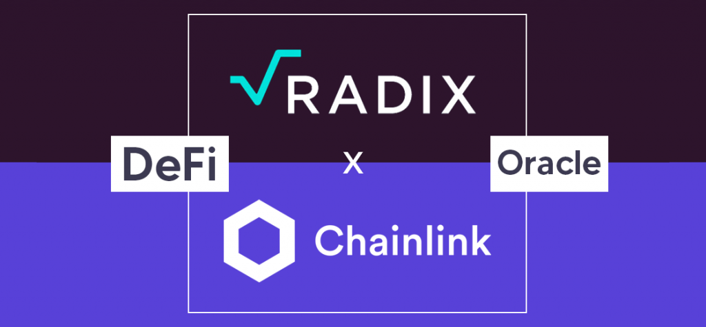 Radix Integrates Chainlink, Making DeFi Oracles Accessible to Developers