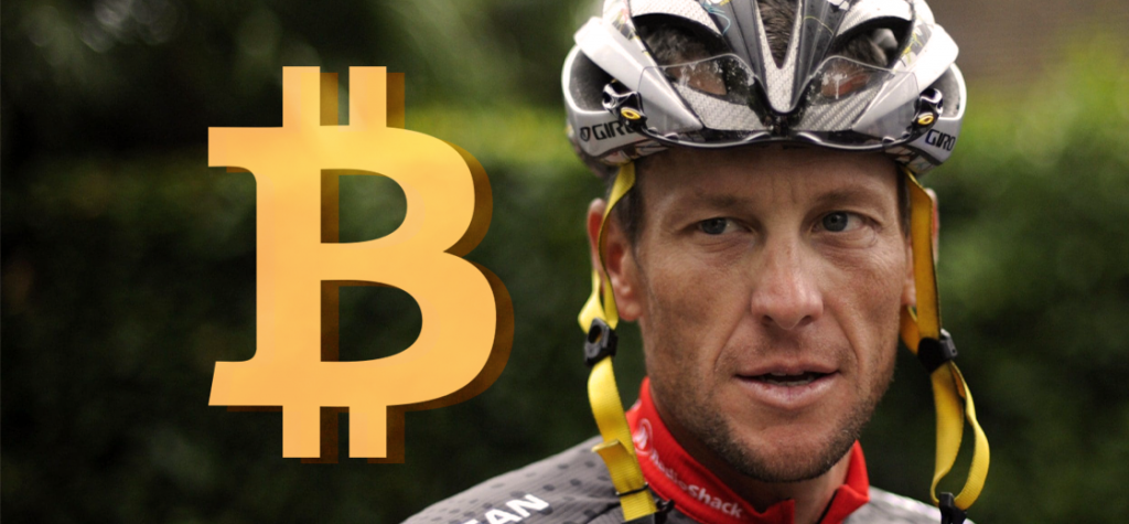Star Cyclist Lance Armstrong is Now a Bitcoin Hodler