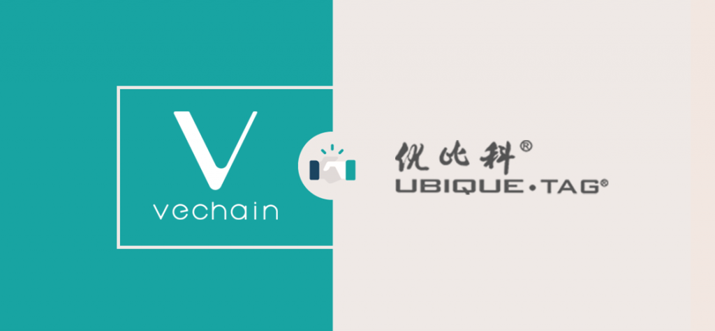 VeChain Enters Into Partnership With Smart Tag Provider Ubique Tag