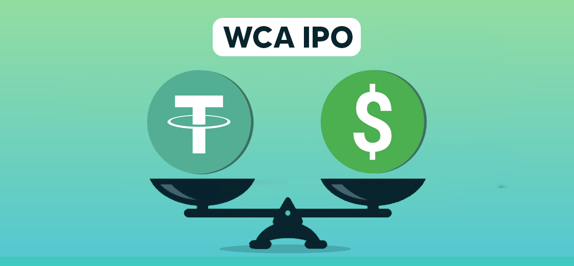 WCA IPO to Accept Tether and Australian Dollar as Payments