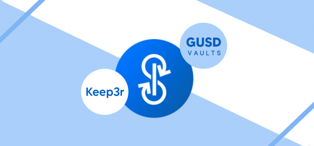Yearn Finance Adds GUSD Vaults and Updated Keep3r Network Details
