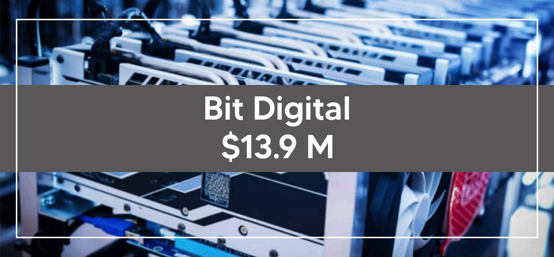 Bit Digital Announces to Issue $13.9M in Shares For Mining Hardware
