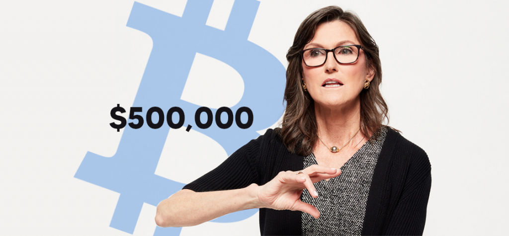 Bitcoin Could Hit $500,000, Says ARK CEO Catherine Wood