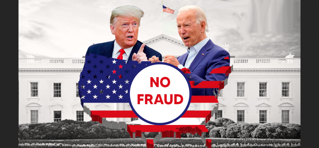 CISA Finds No Evidence of Election Frauds in the 2020 Presidential Voting