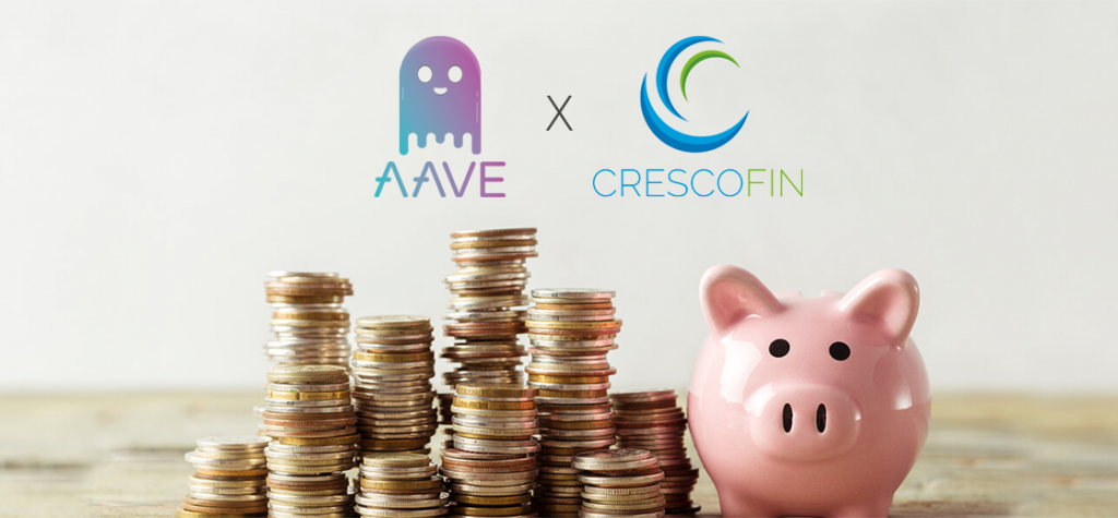 DeFi Protocol Aave Launches Money Market With CrescoFin