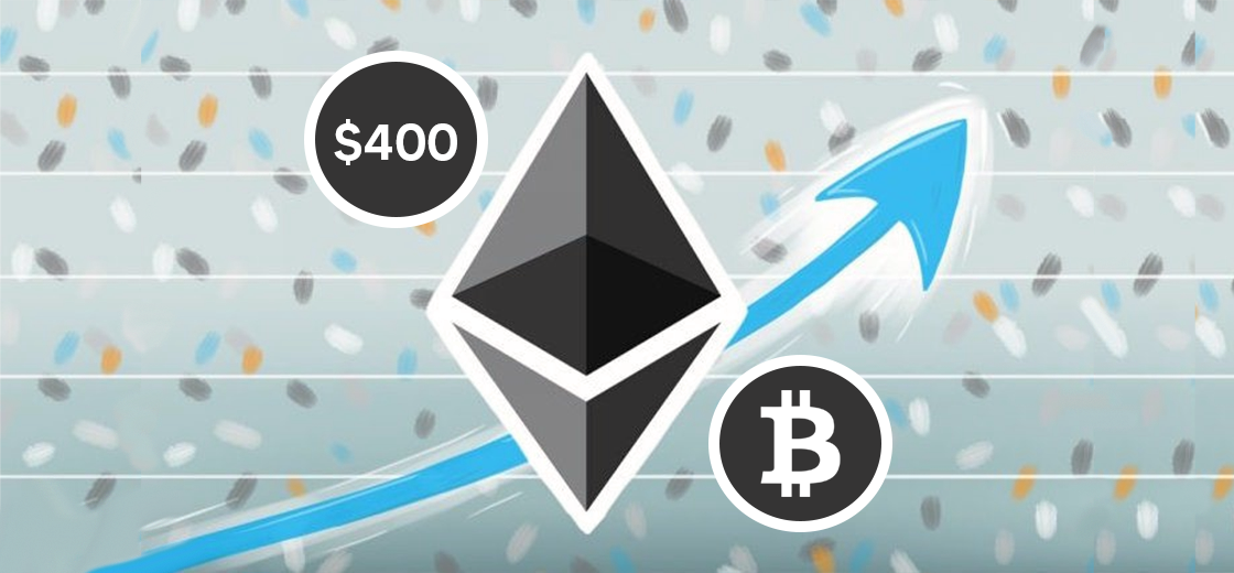 Ethereum Price Increases Above $400, Bitcoin Correlation Is Still High