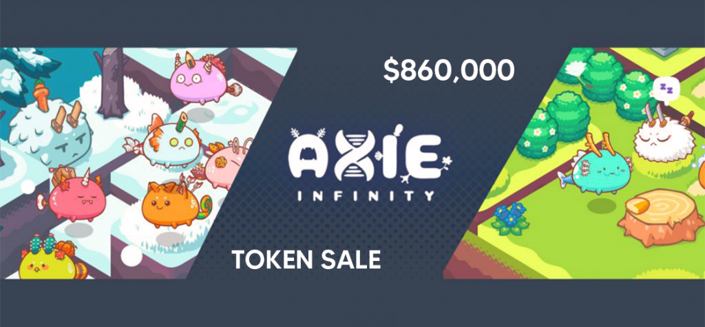 Ethereum-based Game Axie Infinity Raises $860,000 From Token Sale