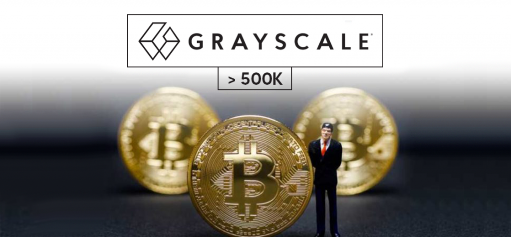 Grayscale Bitcoin Trust Holds More Than 500K Bitcoin