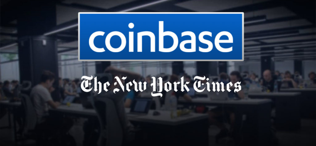 New York Times Report On Racial Discrimination at Coinbase