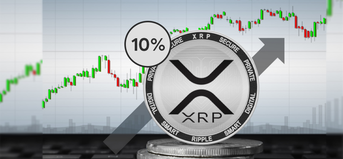 XRP Surges 10% In a Day, Increases Its Market Cap