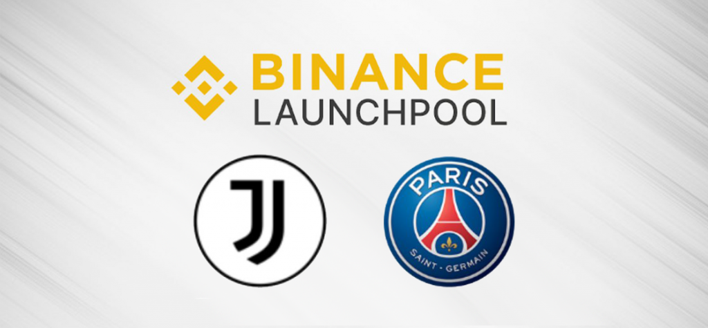 Binance Introduces JUV and PSG Fan Tokens On Launchpool