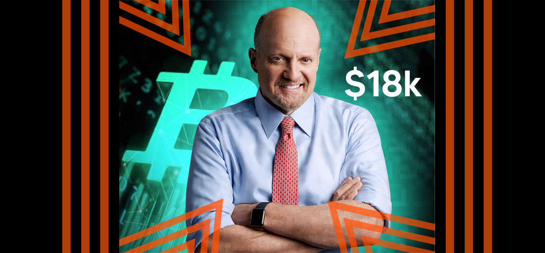 CNBC's Jim Cramer Bought Bitcoin Just Under $18,000 Level