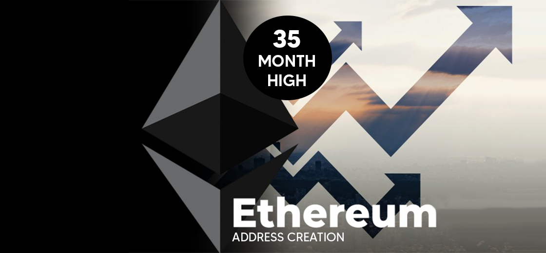 Ethereum Address Creation Reaches 35-Month High After Adding New Addresses
