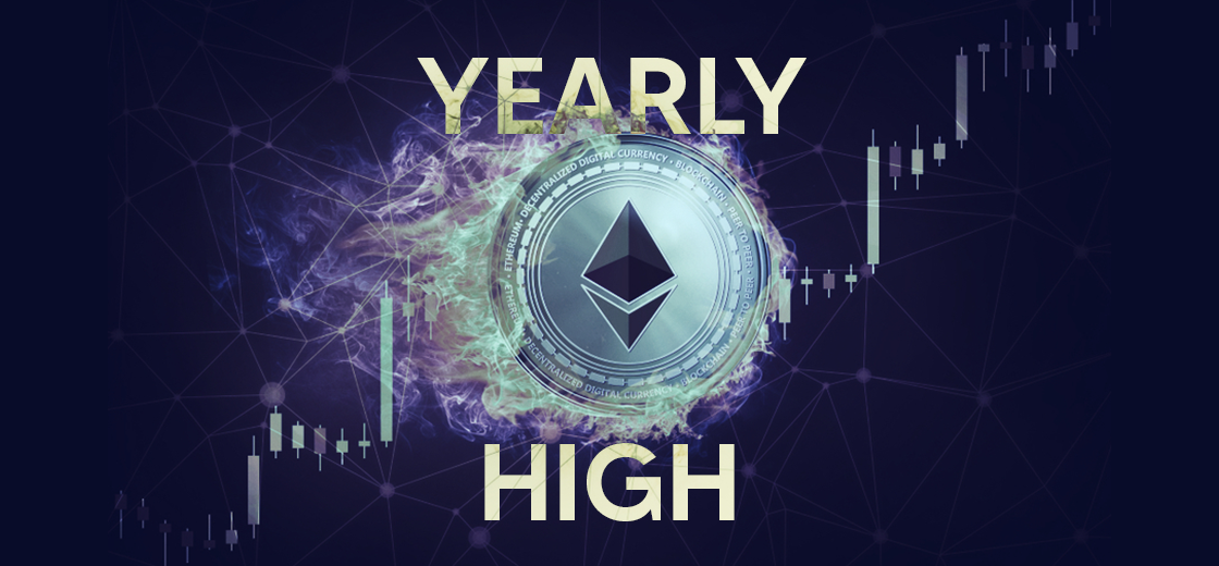 Ethereum Price Now Trading At a Yearly High