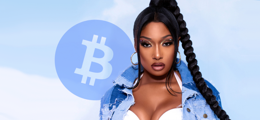 Rapper Megan Thee Stallion Giving Out $1 Million in Bitcoin
