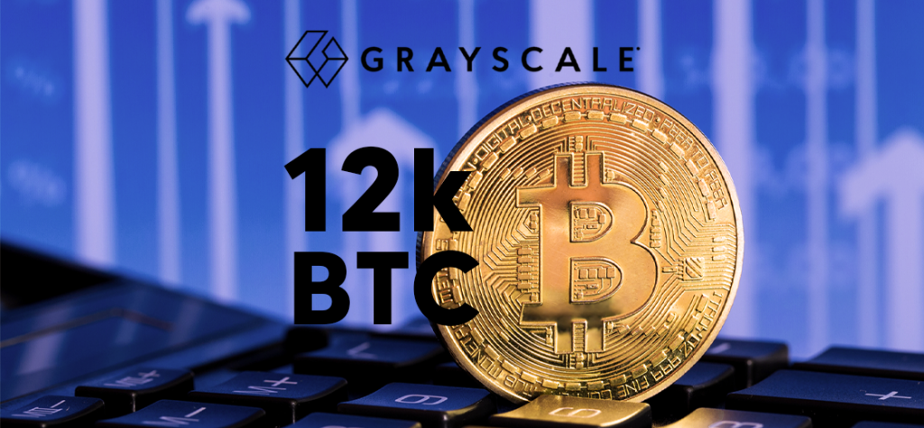 Grayscale Bitcoin Trust (GBTC) Adds Another 12,000 BTC