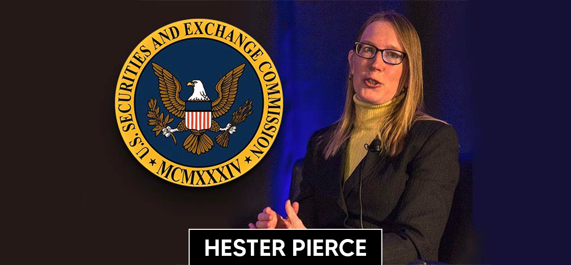 Hester Peirce Says SEC Could Learn From Wyoming on Regulating Crypto