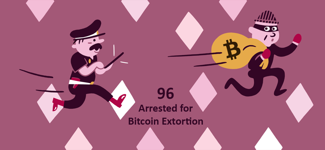 Indian Police Arrests 96 People Running Bitcoin Extortion Rackets