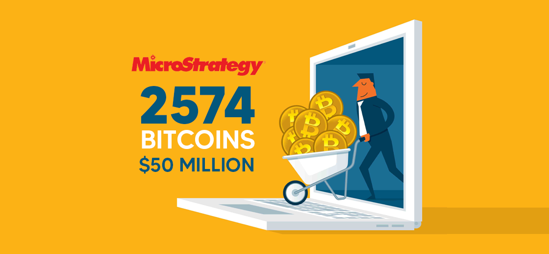 MicroStrategy Buys Another 2,574 Bitcoin For $50 Million