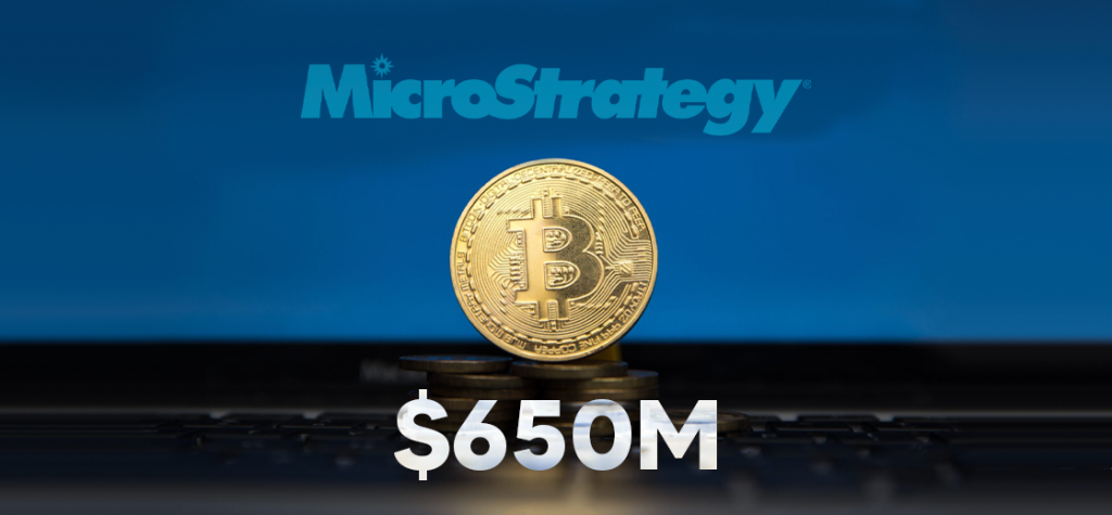 MicroStrategy Invests Another $650 Million in Bitcoin
