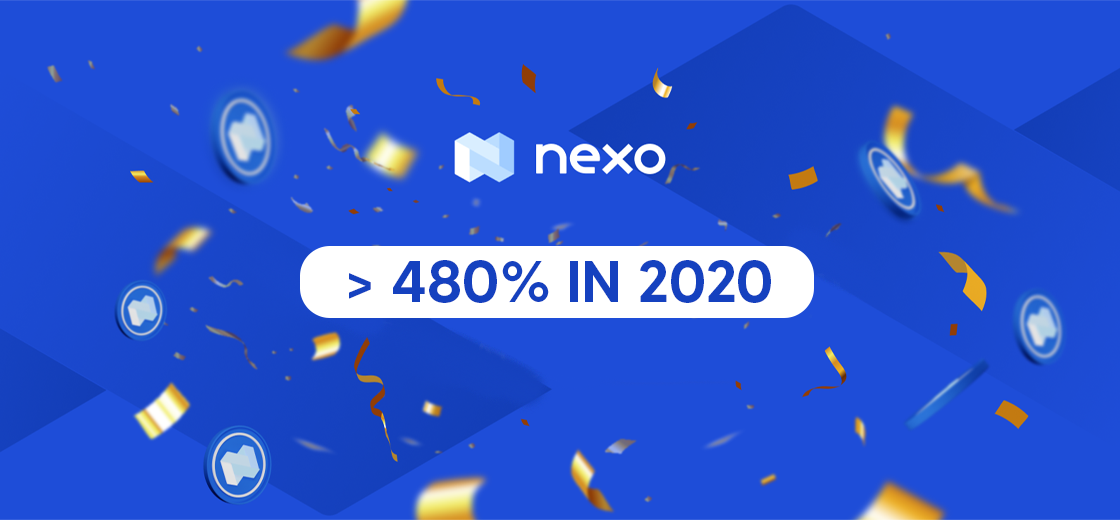 NEXO Token Increased by More than 480% in 2020