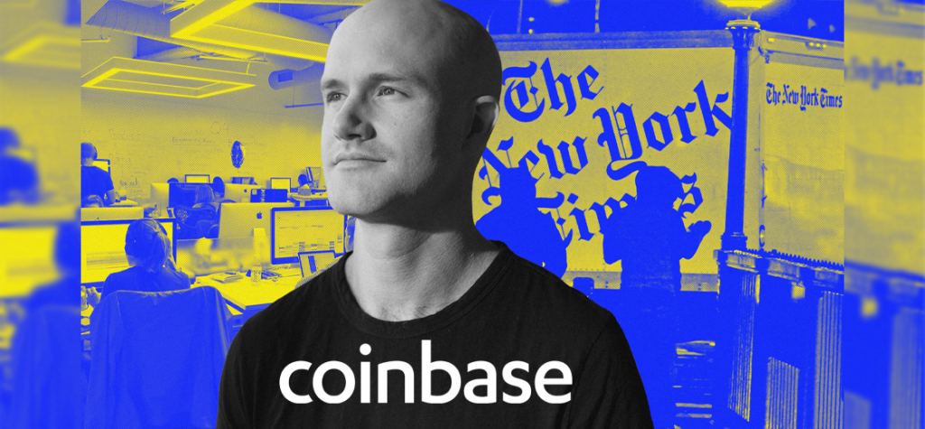 NY Times Reports Coinbase Underpaid Its Female and Black Workers