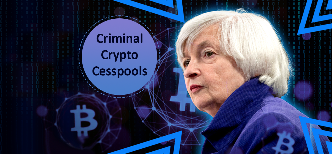 Roubini Warns Biden, Yellen Soon to Crack Down 'Criminal Crypto Cesspools'