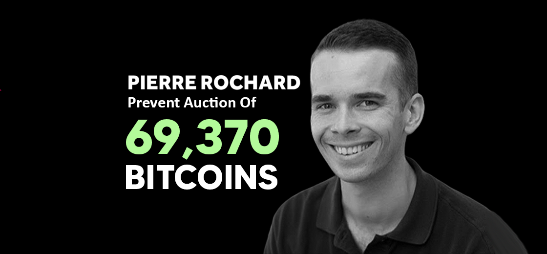 Pierre Rochard Pleas Lawmakers to Prevent Auction of 69,370 Bitcoin